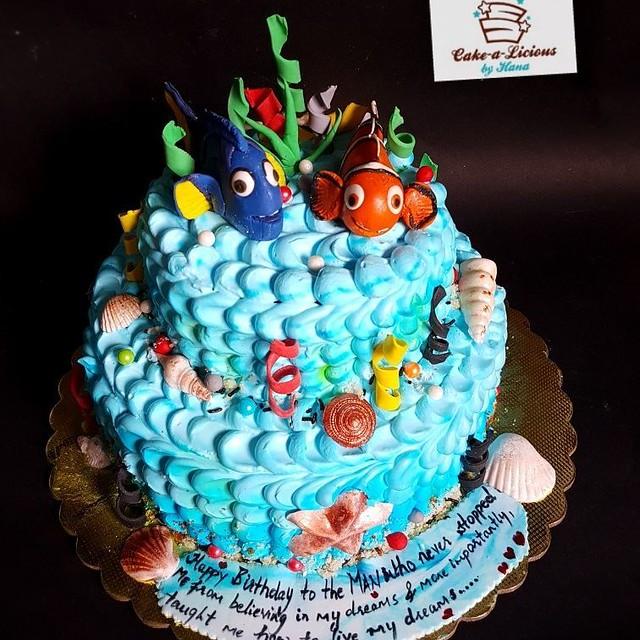 Cake by Hana Hamdule of Cake-a-licious by Hana