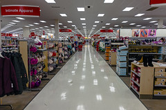 Central corridor at Target, Middletown, NY