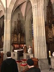 Heilige Messe am Sebastiani-Altar