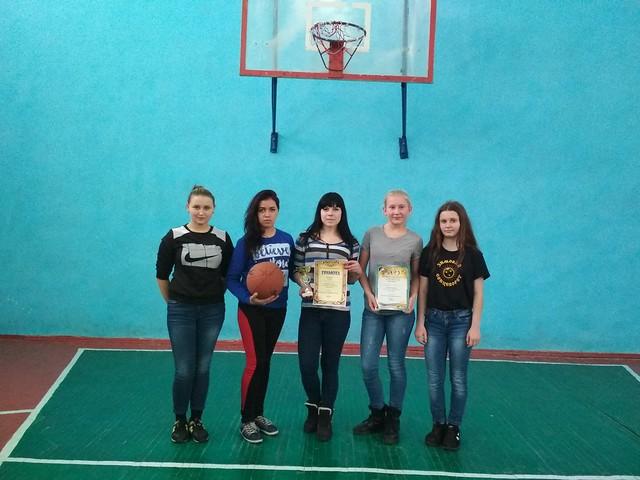 Змагання з баскетболу серед дівчат