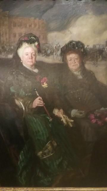 Infanta Isabel, Princesa de Asturias y la Marquesa de Nájera Leaving a Bullfight