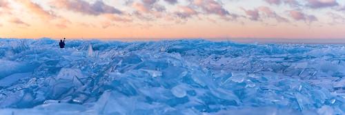 lakesuperior ice iceshards winter cold lakesteam sunrise landscapephotography minnesota stonypoint mn northshore winterscape exploreminnesota exploreduluth
