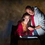 The Electric Baby at the Arvada Center - Jessica Robblee (Natalia) and Abner Genece (Ambimbola) Matt Gale Photography 2018