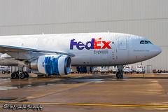 N410FE FedEx | Airbus A310-203(F) | Memphis International Airport