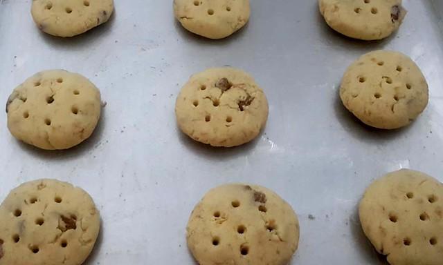 oatmeal raisins cookies pre baked
