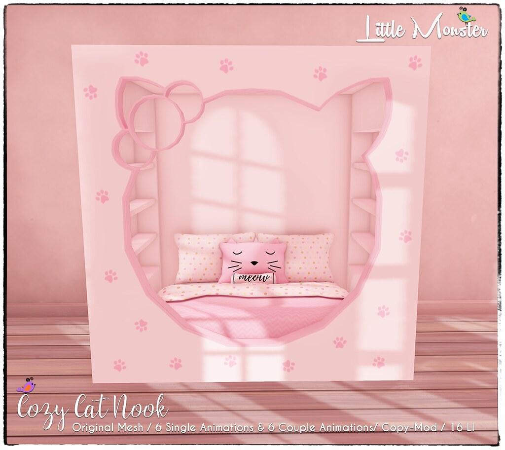 Little Monster – Cozy Cat Nook