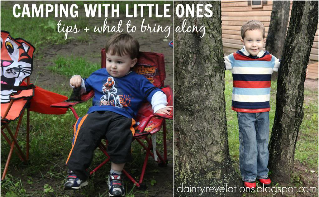 Packing and Planning for Camping with Babies and Toddlers!