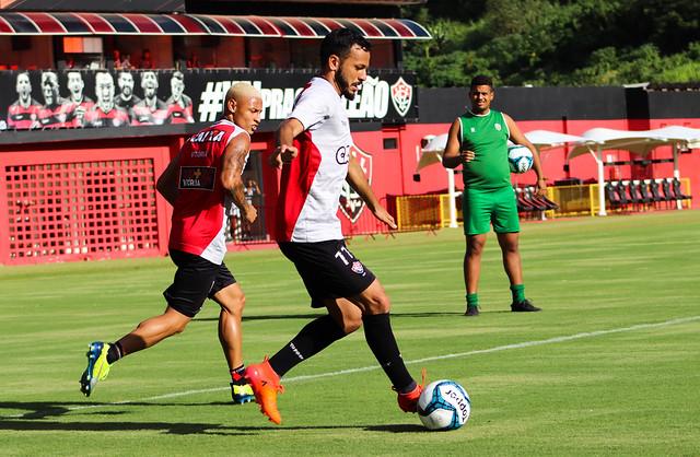 Jogo-treino - Vitória x Atlântico - Fotos: Maurícia da Matta