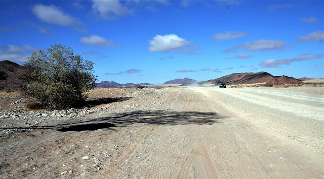 Namibia's Beauty: open road in Damaraland
