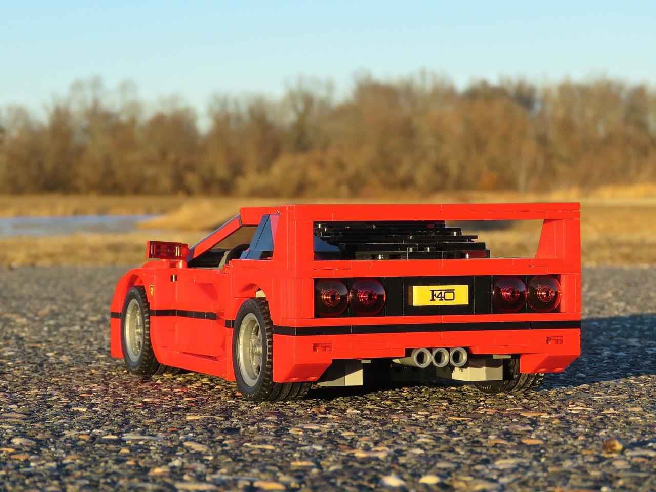Lego Ferrari F40 3