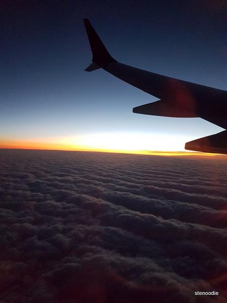 airspace between Calgary and Toronto