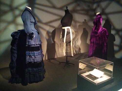 Victorian dresses with bustles #newyorkcity #newyork #manhattan #fashion #museumatfit #fashionandphysique #latergram