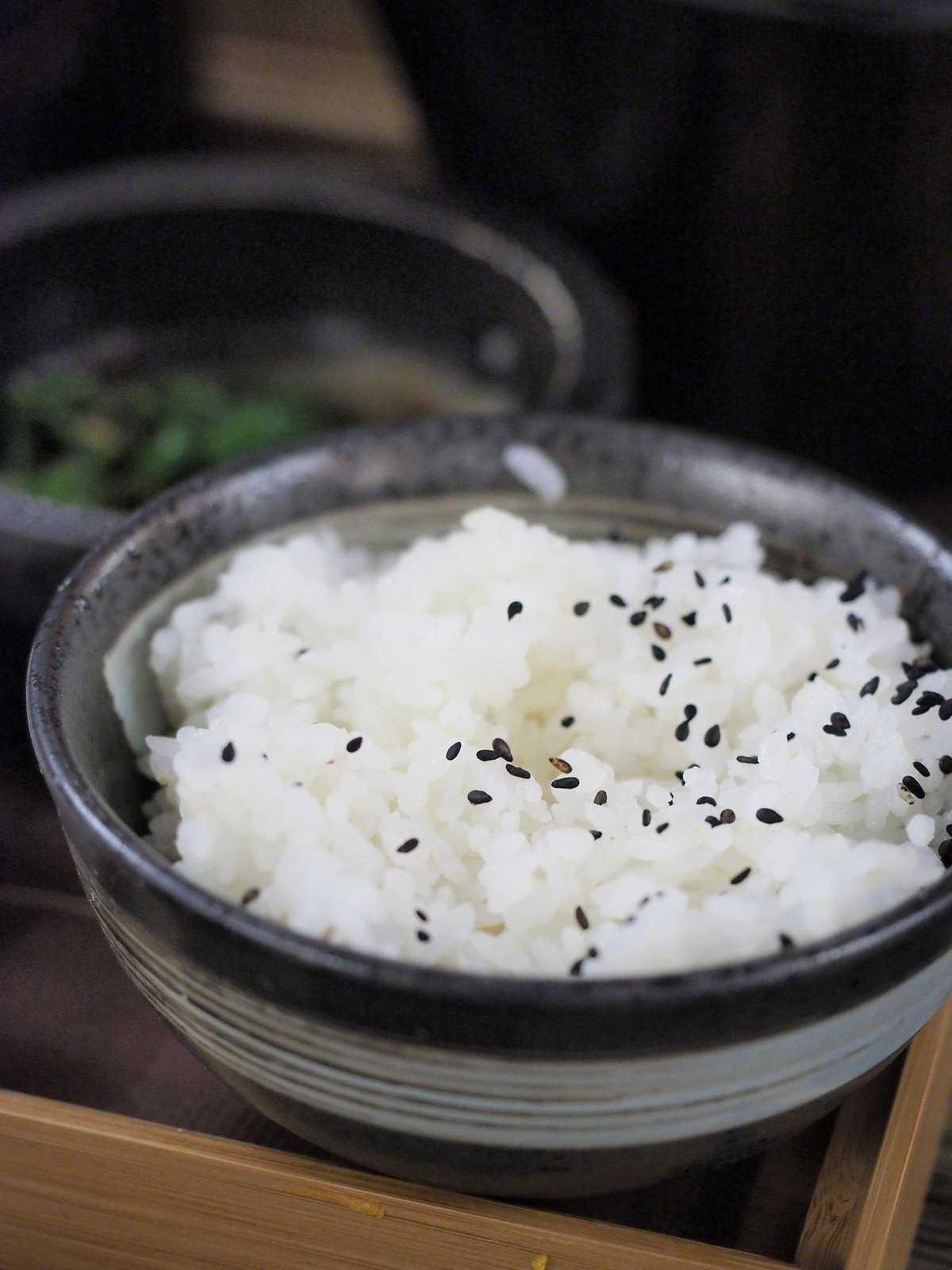A bowl of fragrant white rice