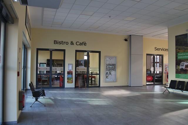 Eisleben railroad station inside