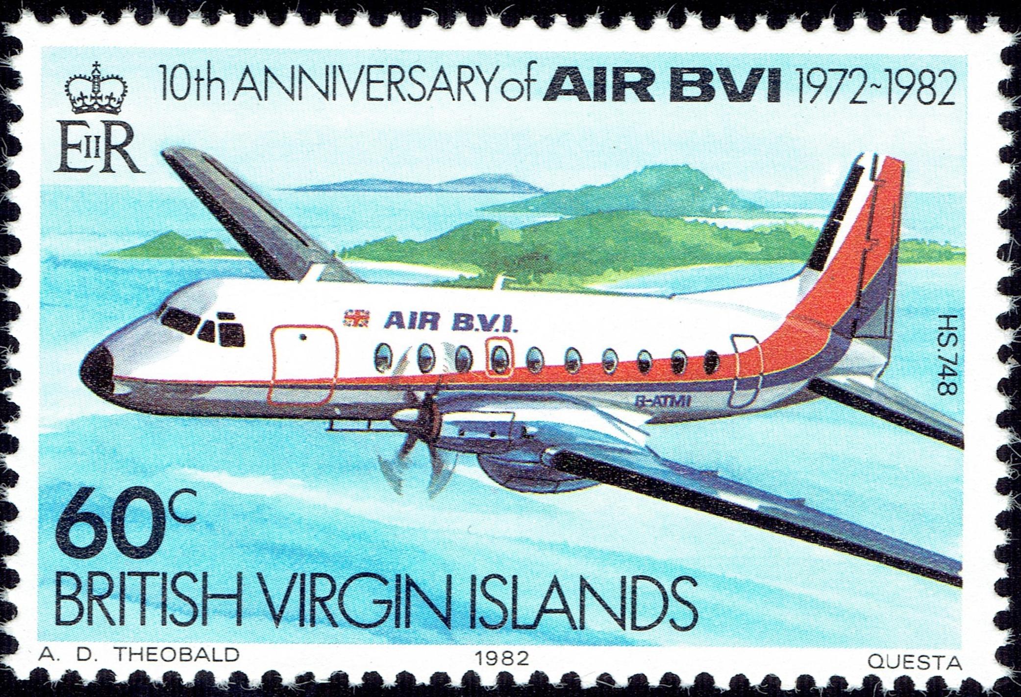 British Virgin Islands - Scott #436 (1982)