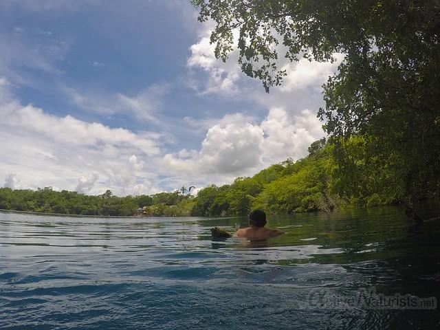 lake view 0001 Cenote Azul, Chetumal, Quintana-Roo, Mexico