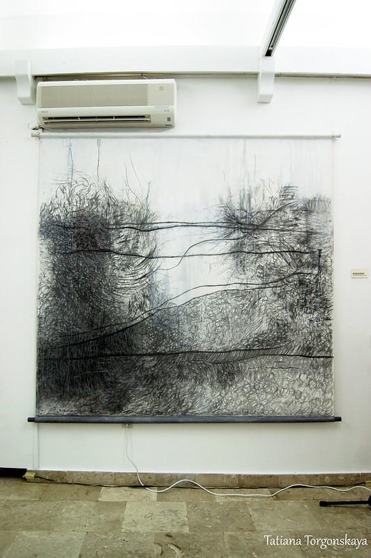 """Наташа Джурович, работа из цикла """"Продолжительность-исчезновение-продолжительность"""""""