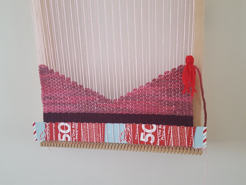 January's weaving challenge