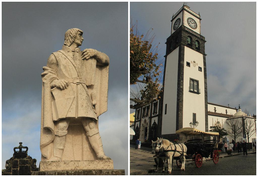Praça Gonçalo Velho, Såo Miguel
