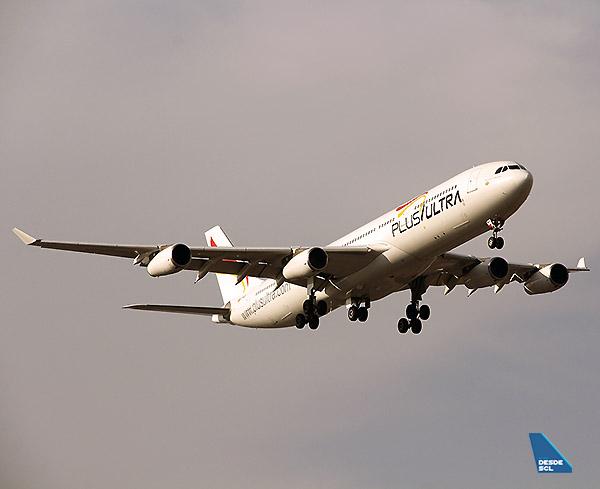 Plus Ultra A340-300 (Juan Manuel Temoche)