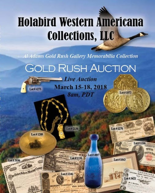 Holabird 2018 Gold Rush Sale catalog cover front