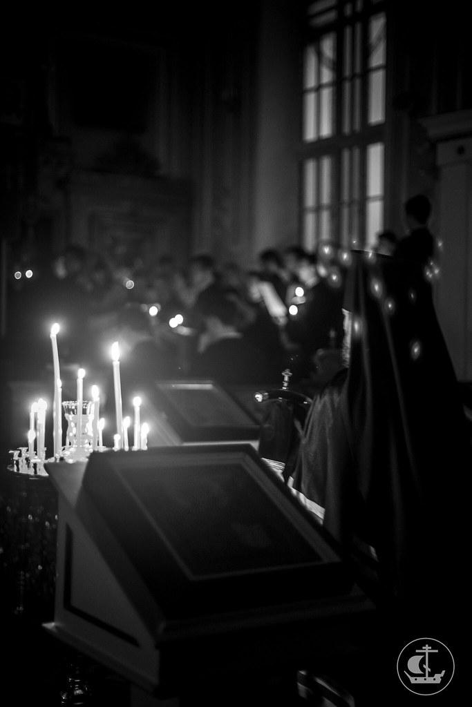 22 февраля 2018, Четверг Первой седмицы Великого поста / 22 February 2018, Thursday of the 1st Week of Great Lent