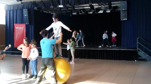 Taller de circo 5º de primaria