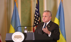 Deputy Secretary of State John J. Sullivan at the Ukraine's MFA Diplomatic Academy