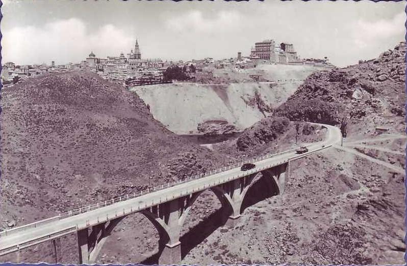 Puente de la Degollada en los años 50