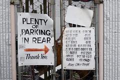 Plenty of Parking in Rear