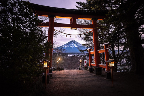 culture night tradition japanese mount sunset travel nature landmark fujiyoshida landscape japan shrine fuji geotagged mountain fujiyoshidashi yamanashiken jp onsale