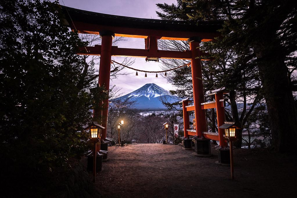 Mount Fuji, Fujiyoshida, Japan picture