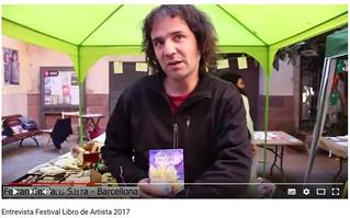 Video Ferran Cerdans Festival Libro de Artista 2017