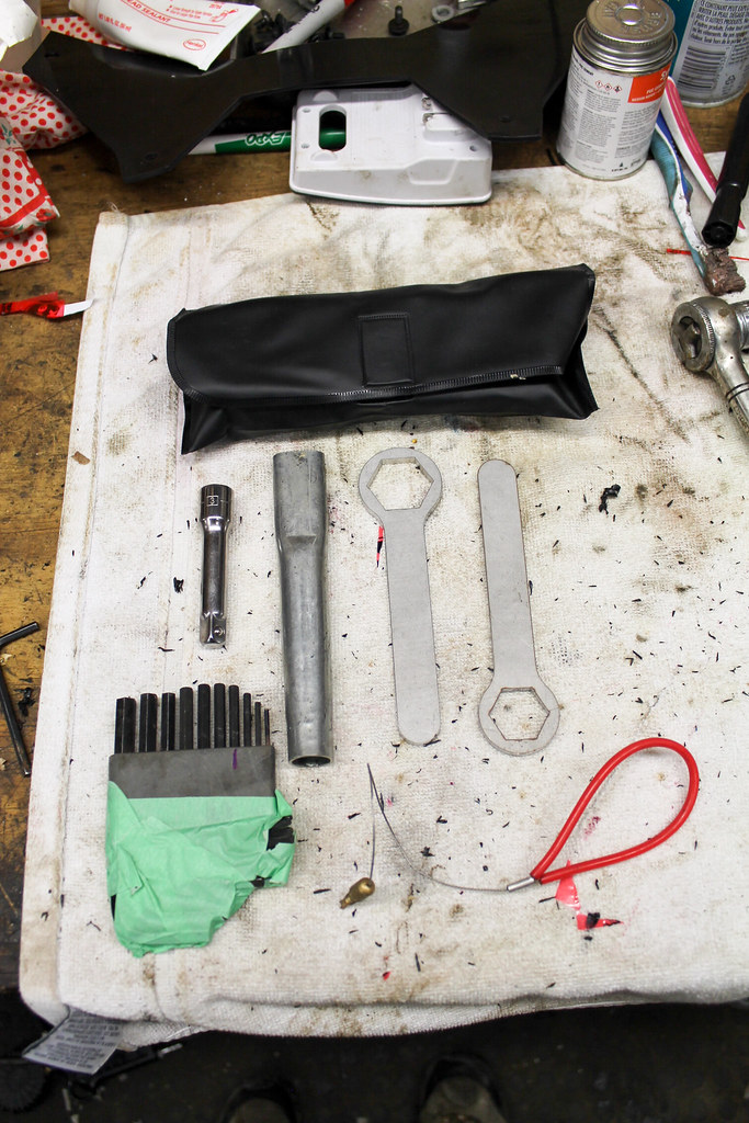 OEM tool bag contents