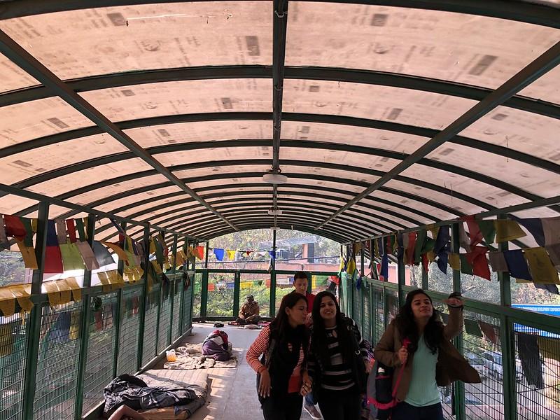 City Landmark - The Foot Overbridge, Majnu ka Teela
