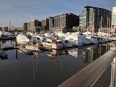 Wharf skyline