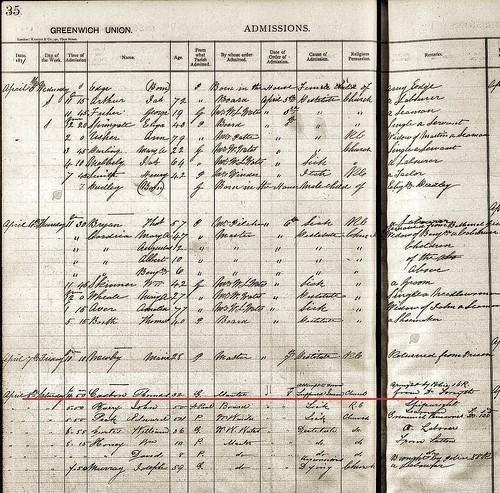 Thomas C b1840 Pboro workhouse admission 1871