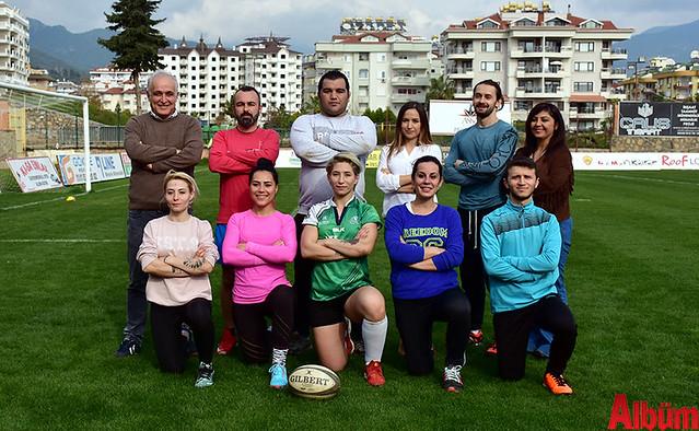 Akdeniz'in ilk ragbi kursu Alanya'da 3