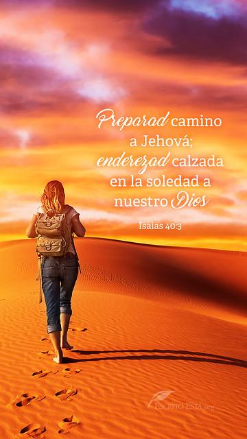 Preparad Camino a Jehova