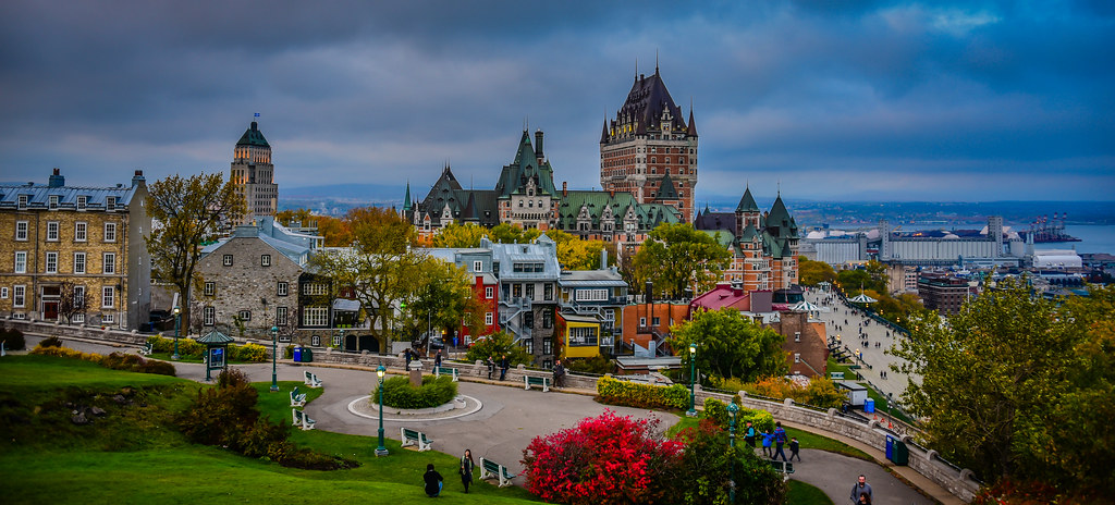 Quebec city quebec tripcarta for Auberge autre jardin quebec city