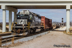 NS 3501 | EMD SD40-2 | NS Memphis District