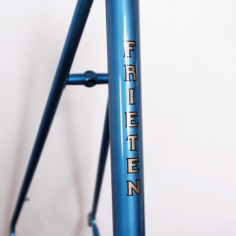 MOTOBECANE Frame & Fork Repainted by Swamp Things.