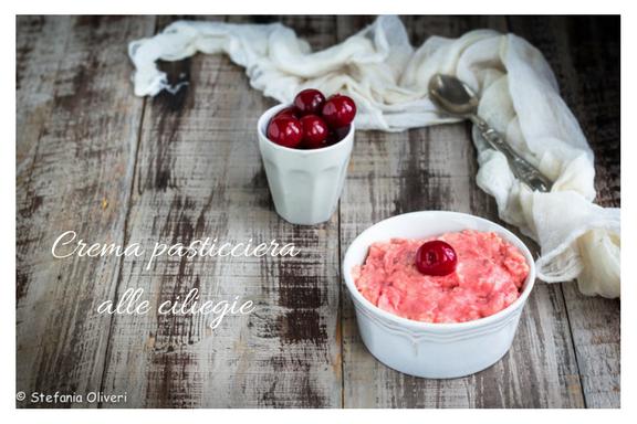 crema pasticciera alle ciliegie