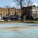 Municipal blue   Paddling pool   Clapham Common   Feb 2018-14