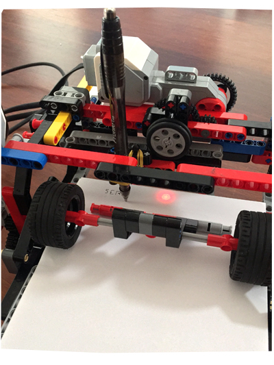 Lego Robot Printer