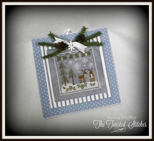Country Cottage Needleworks_Frosty Forest_Snowy Deer