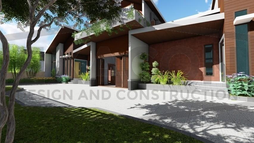 Proyek Rumah Minimalis Modern Bapak Rafa - Depok 8 EXACON, Jasa Desain Rumah di Jakarta