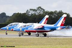 E31 5 F-TERK - E31 - Patrouille de France - French Air Force - Dassault-Dornier Alpha Jet E - RIAT 2010 Fairford - Steven Gray - IMG_9446