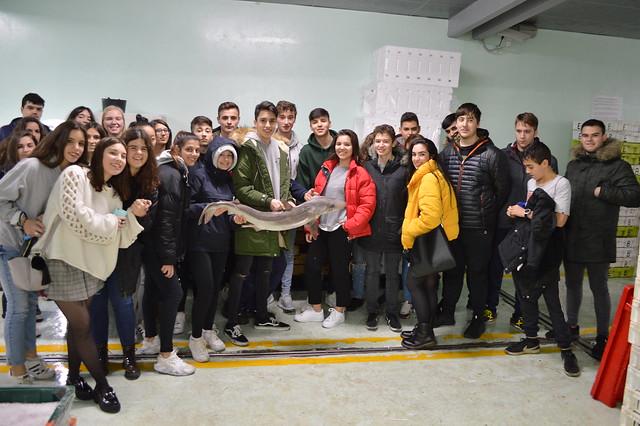 Visita ao Porto da Coruña e a Showa Denko (electrodos de grafito)