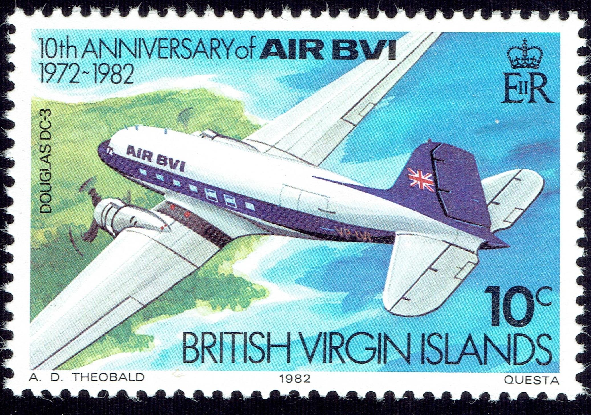 British Virgin Islands - Scott #434 (1982)